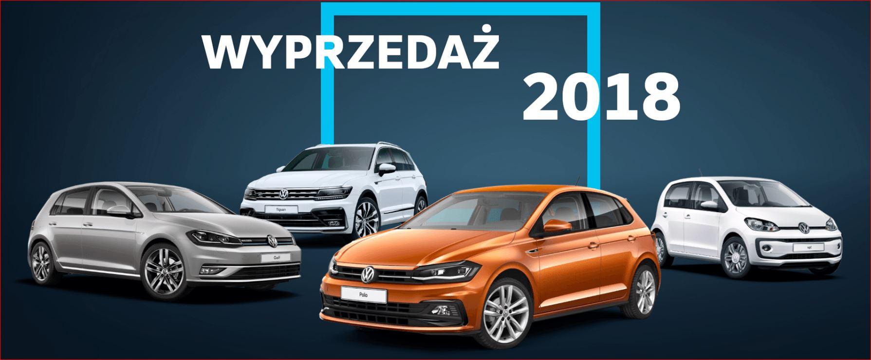 Volkswagen ogłasza wyprzedaż modeli z rocznika 2018 5