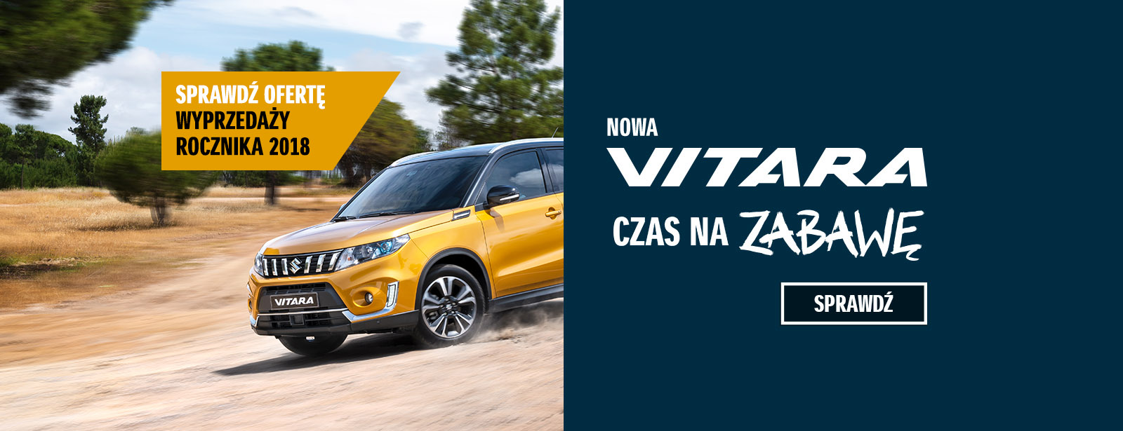 Samochody SUZUKI z rocznika 2018 w atrakcyjnych cenach 7