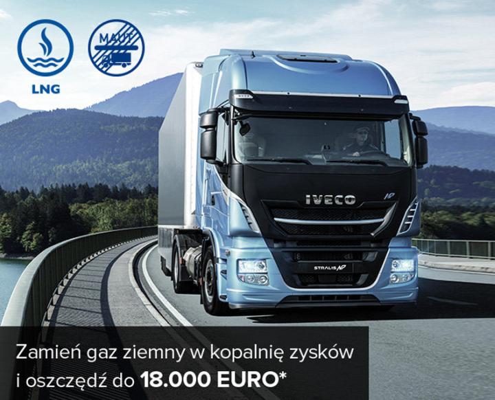 IVECO Stralis NP 460 LNG z atrakcyjnymi bonusami 4