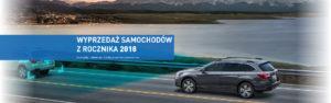 Wyprzedaż samochodów z rocznika 2018 w SUBARU 4