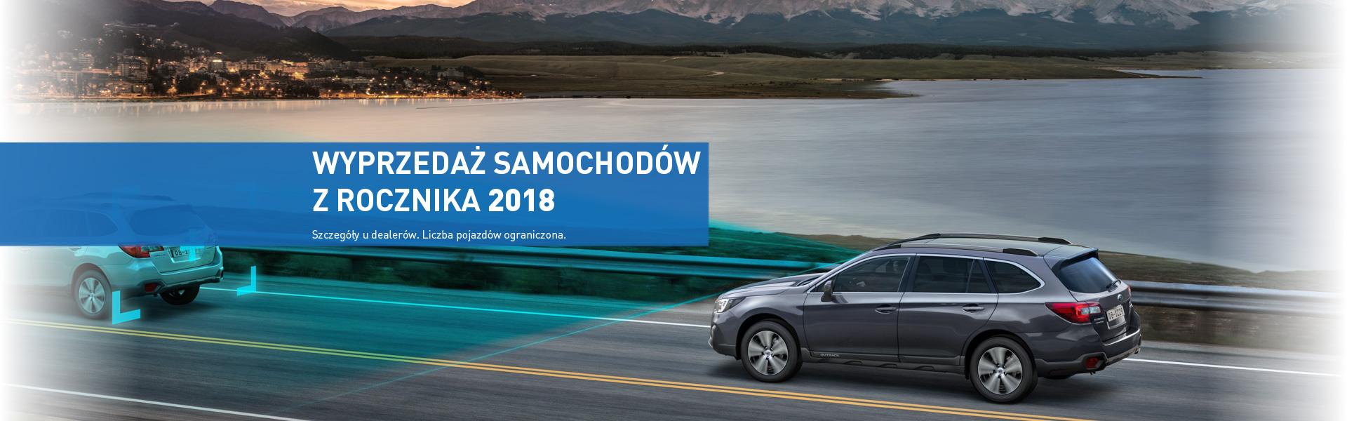 Wyprzedaż samochodów z rocznika 2018 w SUBARU 5