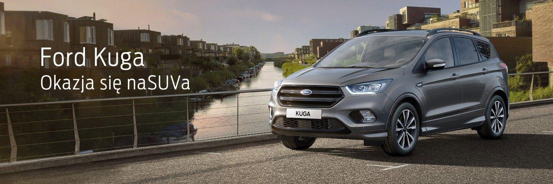 Wyjątkowa okazja na nowy SUV Ford Kuga 2
