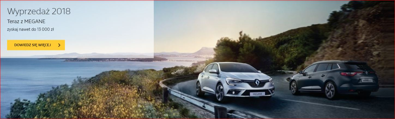 Wyprzedaż Renault z rocznika 2018 8