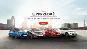 Toyota wyprzedaże modele z rocznika 2018 5