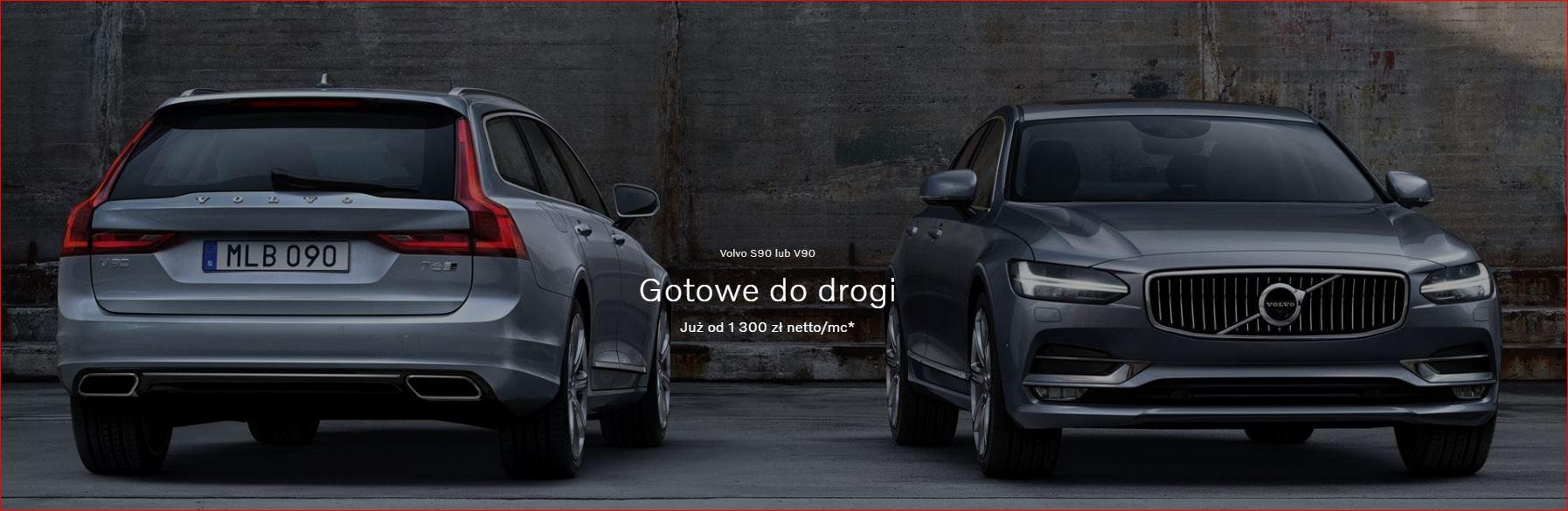 Volvo S90 lub V90 w leasingu 100 lub 101% 2