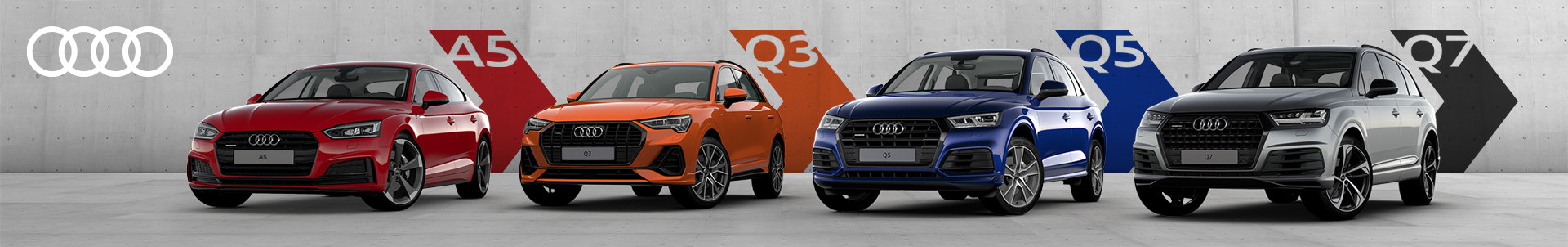 Specjalne ceny na samochody Audi 8