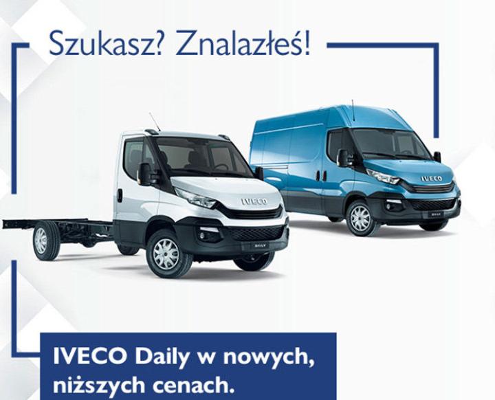 Iveco Daily w atrakcyjnych cenach 5