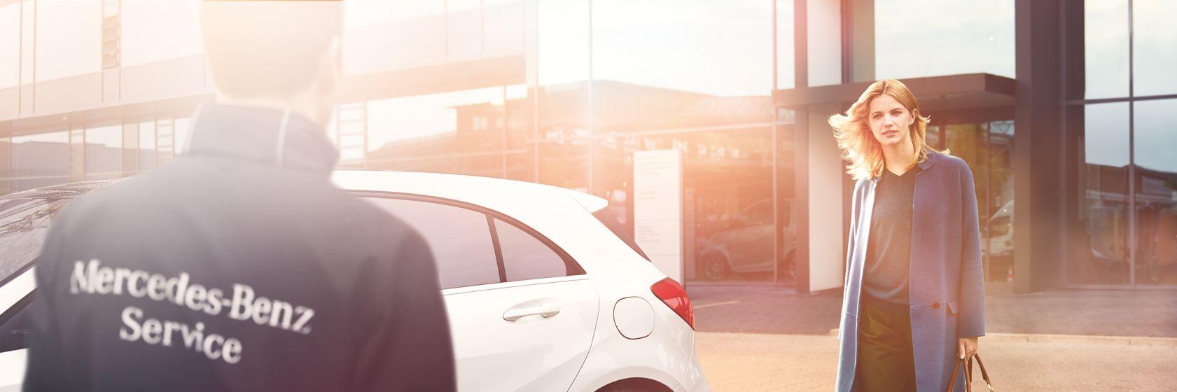 Pakiet serwisowy w Mercedes-Benz na samochody 4 i 5-letnie 1