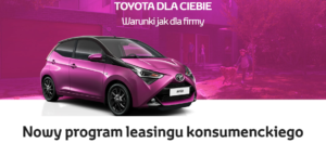 Leasing konsumenci w Toyota 1