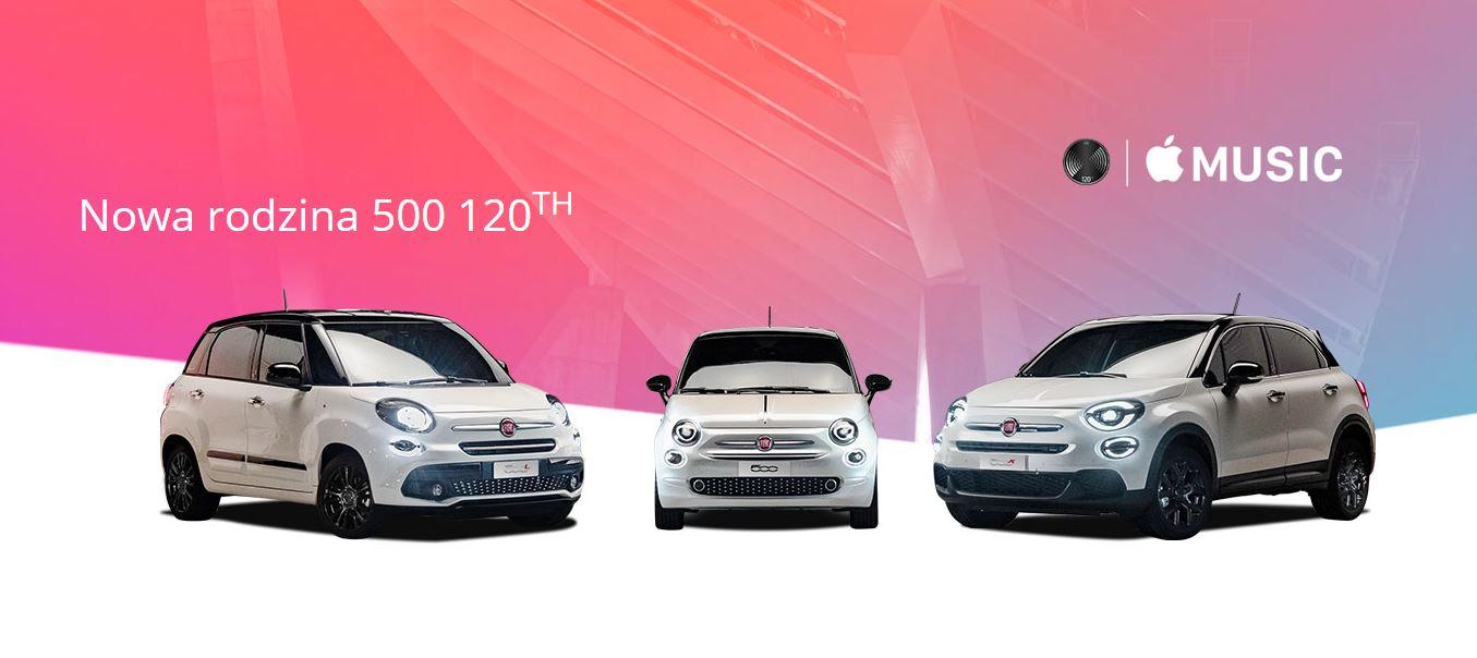 Nowa rodzina Fiat 500 120TH z okazji 120-lecia marki Fiat 1