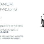 Ford Mondeo Hybryd w atrakcyjnych ratach miesięcznych 7