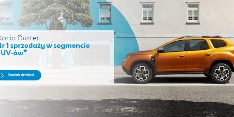 Nowa Dacia Duster w programie Smart Start 1