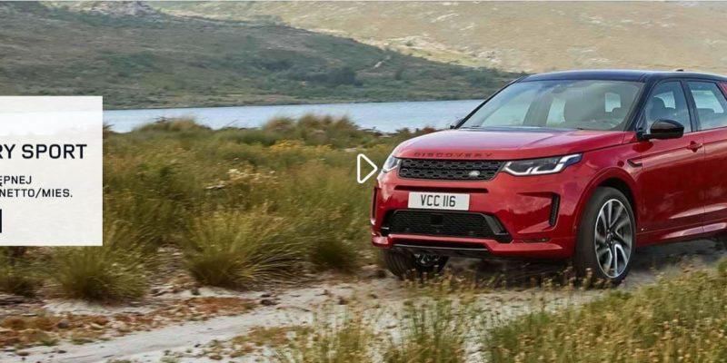 Discovery Sport od 1699 zł netto miesięcznie w Land Rover 1