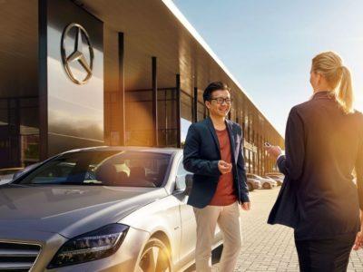 Letni przegląd samochodu w Mercedes-Benz 4