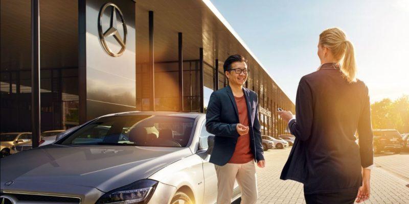 Letni przegląd samochodu w Mercedes-Benz 1