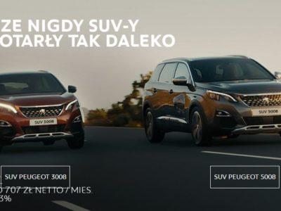 Świetne oferty na SUV-y w Peugeot 6