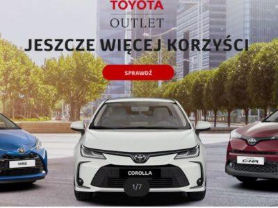 Wyjątkowy outlet w Toyota 3