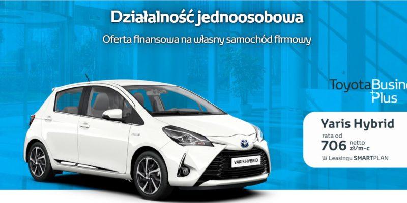 Toyota BusinessPlus z myślą o przedsiębiorcach 1