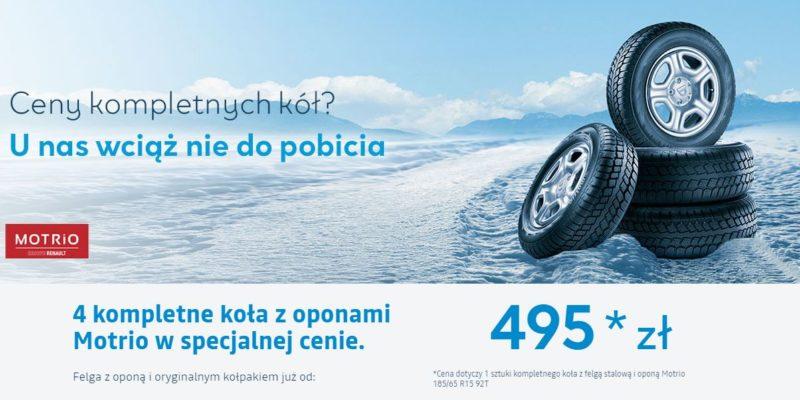 4 kompletne koła z oponami w atrakcyjnej cenie w Dacia 1