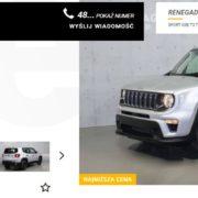 Jeep Renegade od 69 900 zł brutto 24