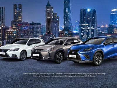 Atrakcyjne ceny na modele z rocznika produkcji 2019 w Lexus 2