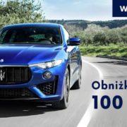 Do 100 000 zł taniej na wyprzedażach w Maserati 20