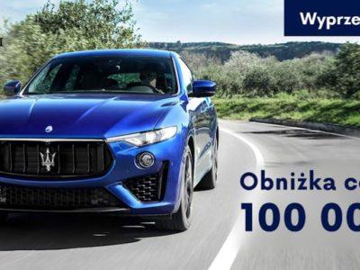 Do 100 000 zł taniej na wyprzedażach w Maserati 5