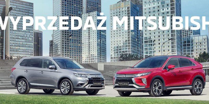 Wybrane modele Mitsubishi taniej o VAT 1