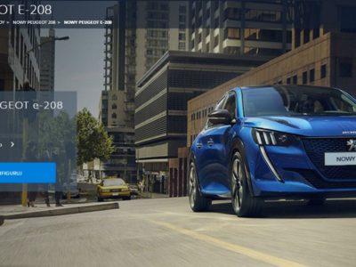 Peugeot e-208 z dofinansowaniem do aut elektrycznych 3
