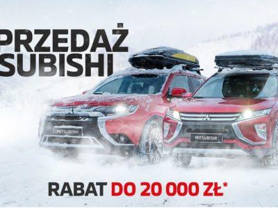 Rabaty do 20 tysięcy złotych na wyprzedażowe modele Mitsubishi 2