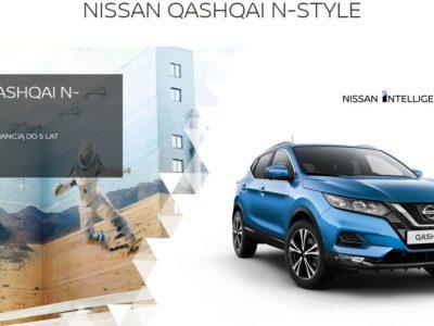 Rozszerzona gwarancja na Nissan Qashqai N-Style 3