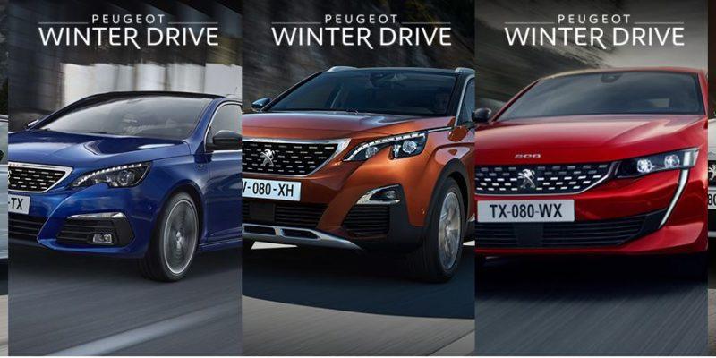Winter Drive w Peugeot z korzyściami do 50 tysięcy złotych 1