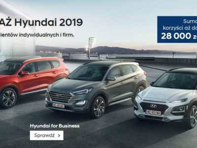 Wielka wyprzedaż rocznika 2019 w Hyundai 4