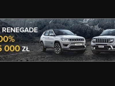 Leasing 100% i rabaty do 15 tysięcy złotych w Jeep 6