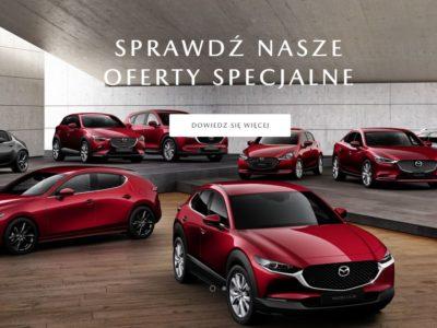 Wyprzedaż modeli z rocznika 2019 w Mazda 3
