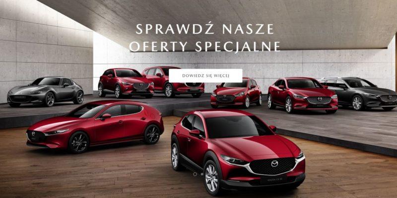 Wyprzedaż modeli z rocznika 2019 w Mazda 1