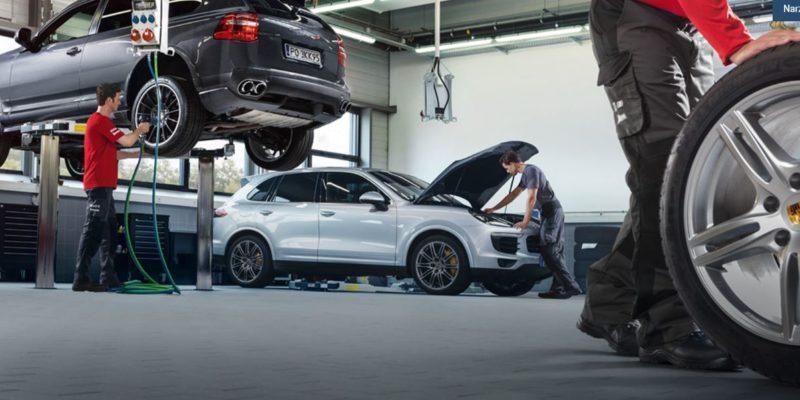 Korzystając z usług serwisowych Porsche oszczędzasz do 27% 1