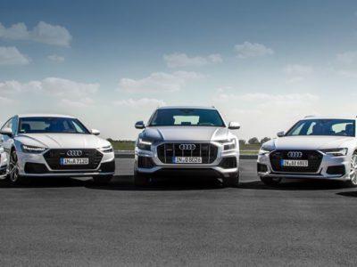 Kupując Audi w technologii mild hybrid zyskujesz dodatkową premię ekologiczną 4
