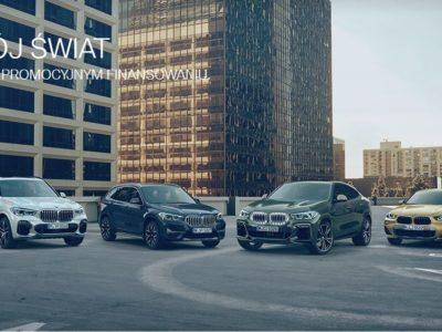 Promocyjne finansowanie w BMW 3