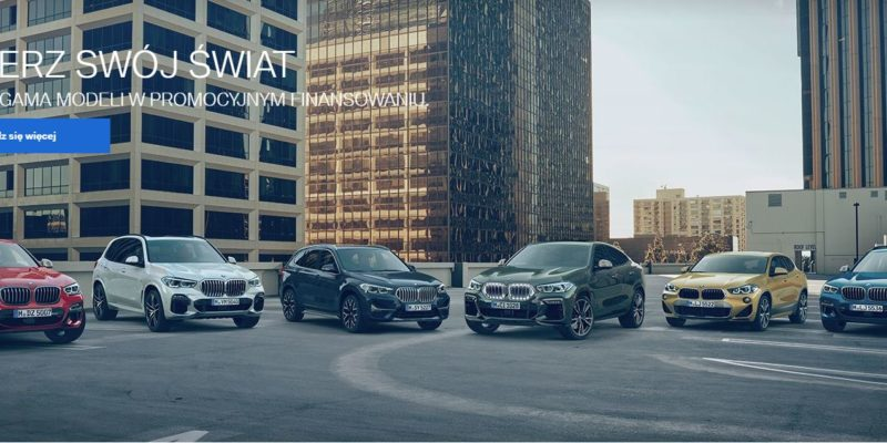 Promocyjne finansowanie w BMW 1