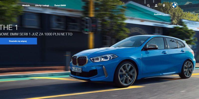 BMW 1 za 1000 zł netto miesięcznie 1