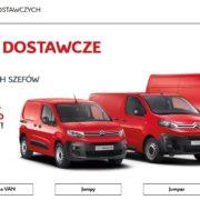 101% i dodatkowy rabat na samochody dostawcze Citroen 16
