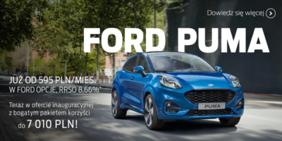 Ford Puma z pakietem korzyści 4