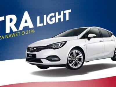 Opel Astra Light z rabatami do 16 tysięcy złotych 2