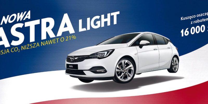 Opel Astra Light z rabatami do 16 tysięcy złotych 1