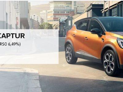 Renault Captur od 599 zł miesięcznie 2