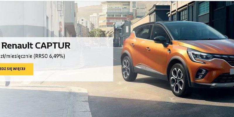 Renault Captur od 599 zł miesięcznie 1