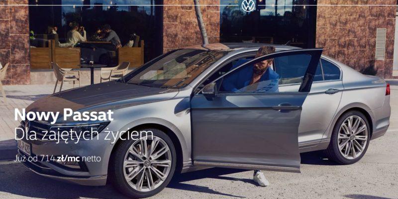 Volkswagen Passat od 714 zł netto miesięcznie 1
