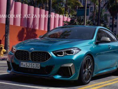 BMW serii 2 Gran Coupé za 1100 zł netto miesięcznie 2