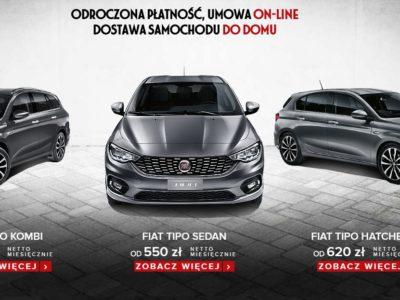 Abonament na wybrane modele Fiata 2